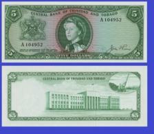Trinidad Tobago 5 Dollars 1964  - REPLICA --  REPRODUCTION - Trinité & Tobago