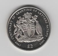 ANTARCTIQUE BRITANNIQUE 2 LIVRES 2008 - Monnaies