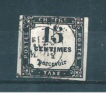 France Timbre Taxe  De 1859 N°3 Oblitéré - 1859-1955 Oblitérés