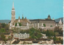 (HON131)  BUDAPEST. MATHIAS CHURCH AND HOTEL HILTON - Hungría