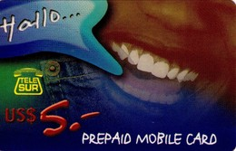 TARJETA TELEFONICA DE SURINAME (ANTILLAS HOLANDESAS) TEL-REF-0009E. (001) - Antilles (Netherlands)