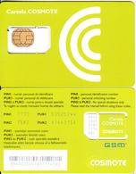 ROMANIA - Cosmote GSM, Chip Cos7, Mint - Rumania