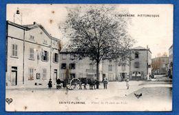 Sainte Florine    / Place De L'Hôtel De Ville  / Tâchée - Other Municipalities