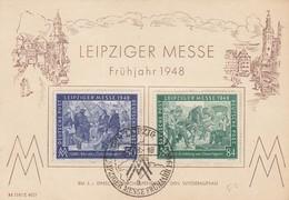 LEIPZIGER MESSE FRÜHJAHR 1948 - Allemagne