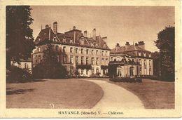 CPA 57 HAYANGE / CHATEAU - Hayange