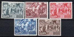 1951 Vaticano Calcedonia N. 149 - 53 Serie Completa INTEGRA MNH** - Neufs