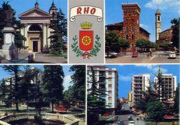 Rho - Santuario - Palazzo Comunale - Fontana In Libertà - Formato Grande Non Viaggiata – E 6 - Rho