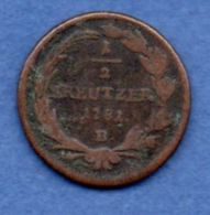 Autriche  -  1/4 Kreutzer 1782  - état  B+ - Autriche