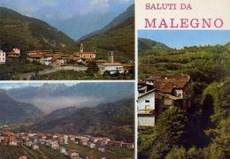 Saluti Da Malegno - Brescia - Formato Grande Viaggiata – E 6 - Brescia