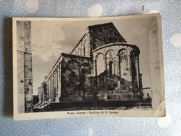 Cartolina Di Porto Torres - Italie