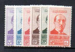 1945 Schukri-el-Kuwatli MNH Complete Set Mi. # 495-500 (S57) - Syria