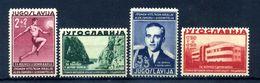 1938 JUGOSLAVIA SET MNH ** - 1931-1941 Regno Di Jugoslavia