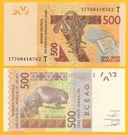 West African States 500 Francs Togo (T) P-819Td 2017 UNC - West African States