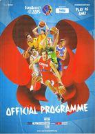 Croatia 2015 / EUROBASKET 2015 / Basketball / Official Programme - Livres
