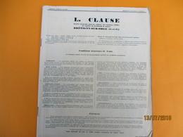 Catalogue/L CLAUSE/Société Anonyme Pour  La Culture Des Graines D'Elite/ BRETIGNY Sur ORGE( S & O) /1935     CAT236 - Garten