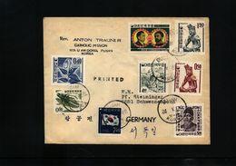 South Korea 1968 Interesting  Letter - Corea Del Sud