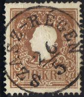 AUSTRIA HUNGARY ROMANIA 1858 @ SZÁSZ-RÉGEN  Now REGHIN MS OPM - Oblitérés