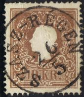 AUSTRIA HUNGARY ROMANIA 1858 @ SZÁSZ-RÉGEN  Now REGHIN MS OPM - Usados