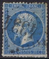 0022 - OBL - COB - 1,00 € - 1853-1860 Napoléon III