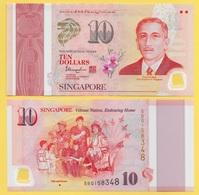 Singapore 10 Dollars P-59 2015 Commemorative UNC - Singapour