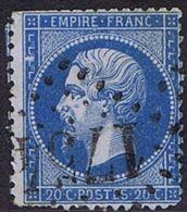 0022a - OBL - COB - 2,00 € - 1853-1860 Napoléon III