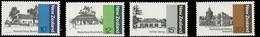 New Zealand Scott # 681-684, Set Of 4 (1979) Early New Zealand Architecture, Mint Never Hinged - Ongebruikt