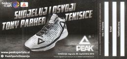 Croatia 2015 / EUROBASKET 2015 / Basketball / Advertising Flyer - Peak / Winning Game - Sports