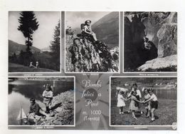 Baselga Di Pinè (Trento) - Bimbi Felici - Viaggiata Nel 1957 - (FDC10595) - Trento