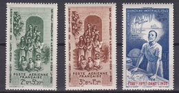 Inde 1942 - PA N°7 à 9 Neuf** Luxe - India (1892-1954)