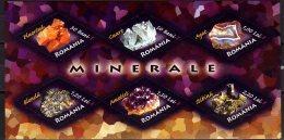 2006 Romania - Mineral - MS - Mi B 383- Paper MNH** - Mineralien