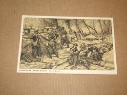 2 Cartes De A.Bastien.Armée Belge.Publié Au Bénéfice Des Asiles Des Soldats Invalides Belges. - Guerre 1914-18