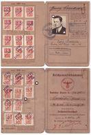 Germany Nazi Reichsmusikkammer 1937-1940 Und Deutsches Reich Arbeitsbuch - Dokumente