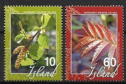 Islande 2007 N°1083/1084 Neufs** Office Du Boisement - 1944-... Republik