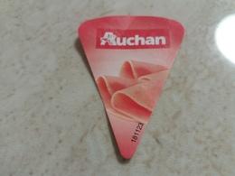 Cheese Queso Kase Label Etikette Etiqueta Hungary Auchan Schinken Ham Sonka - Käse