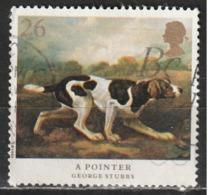 Gran Bretagna 1991 English Pointer (Canis Lupus Familiaris) - Animali (Fauna) | Cani | Dipinti | Mammiferi - 1952-.... (Elizabeth II)