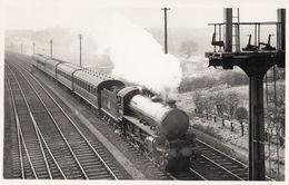 LNER B1 Class No 61259 4-6-0 Killing Beck Cutting Leeds Train Photo - Trains