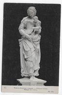 (RECTO / VERSO) MUSEE DE SCULPTURE COMPAREE - N° 602 - LA VIERGE - VILLEMAUR (AUBE) - CPA NON VOYAGEE - Musées
