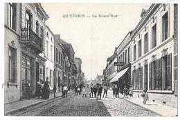 QUIEVRAIN - La Grand'Rue (vue Animée) - Quiévrain