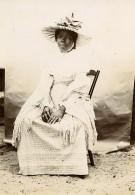 Madagascar Portrait De Femme De Tamatave Elegante Chapeau Ancienne Photo Ramahandry 1910' - Africa