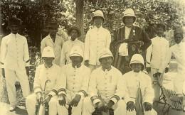 Madagascar Fonctionnaires Sakalaves Sakalava Ancienne Photo Ramahandry 1910' - Africa