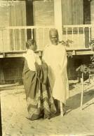 Madagascar Couple Ethnie Antaimoro Antemoro Ancienne Photo Ramahandry 1910' - Africa