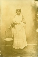 Madagascar Femme De L'ethnie Vezo Ancienne Photo Ramahandry 1910' - Africa