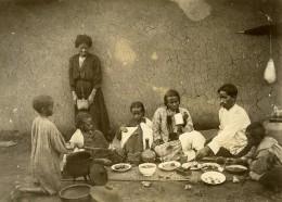 Madagascar Le Repas De Famille Ancienne Photo Ramahandry 1910' - Africa