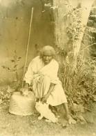 Madagascar Sorcière Et Ses Chats Ancienne Photo Ramahandry 1910' - Africa