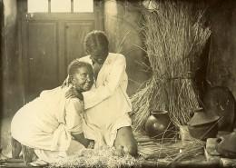 Madagascar Accouchement Malgache Ancienne Photo Ramahandry 1910' - Africa