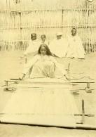 Madagascar Tisseuse De Rabane Raphia Ancienne Photo Ramahandry 1910' - Africa