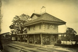 Madagascar Gare De Brickaville Vohibinany Ancienne Photo Ramahandry 1910' - Afrique