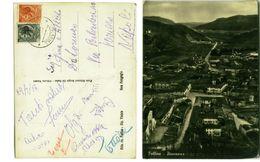 FOLLINA ( TREVISO ) PANORAMA - ED. SERGIO DE NADAL - 1958 ( 2225 ) - Treviso