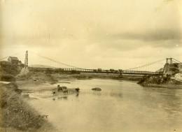 Madagascar Tananarive Pont Suspendu D'Anosizato Ancienne Photo Ramahandry 1910' - Africa