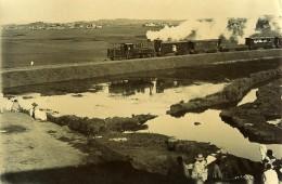 Madagascar Tananarive Inauguration Du Train A Vapeur Ancienne Photo Ramahandry 1910' - Africa